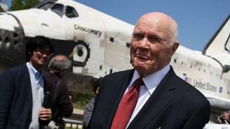 John Glenn, Former U.S. Senator And Astronaut, Was Hospitalized 'More Than A Week Ago'