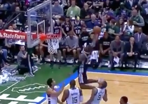 This Brilliant Spurs Out Of Bounds Play Ended With A Massive Jonathan Simmons Dunk