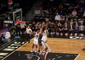 Kevin Durant Literally Threw The Ball Through The Rim Right In Brook Lopez's Face