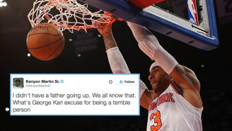 Kenyon Martin Held Nothing Back As He Went Off On 'Terrible Person' George Karl