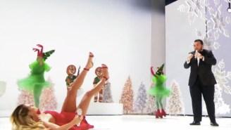 Heidi Klum Took A Spill During A Musical Number On 'America's Got Talent'