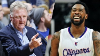Larry Bird Thought There Was 'No Way In Hell' DeAndre Jordan Would Be A Star