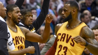 LeBron James Killed The Bucks With A Late-Game Three, Proving Yet Again That He's Still The King