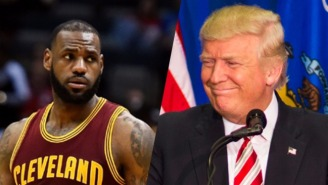 LeBron James Is Refusing To Stay At Trump's NYC Hotel