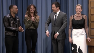 John Legend And Chrissy Teigen Continue To Be 'That Couple' Playing Charades On 'Fallon'