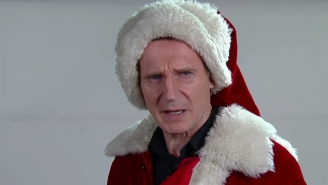 Liam Neeson Makes For One Very Frightening Santa Claus With A Particular Set Of Skills