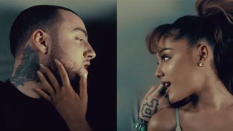 Ariana Grande And Mac Miller Put Their Love On Display In The New Video For 'My Favorite Part'