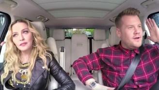 Watch Madonna Shake It And Sing The Classics On 'Carpool Karaoke'