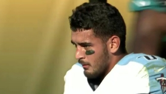 Marcus Mariota Was Carted Off After Suffering A Scary-Looking Leg Injury