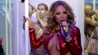 Mariah Carey And Her Cleavage Star In Her New 'Here Comes Santa Claus' Video