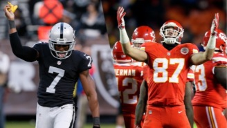 Marquette King Owned Travis Kelce After The Chiefs Tight End Mocked Him On The Field