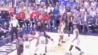 Marreese Speights Just Obliterated Tyreke Evans With This Poster Jam