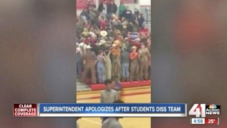 A Missouri School District Is Apologizing After White Students Turned Their Backs To Black Guests
