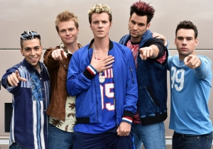 Look At This Picture Of The Fake NSYNC From Lifetime's Unauthorized Britney Spears Movie