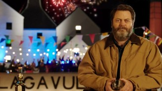 Nick Offerman Is Here To Sip Scotch With You All New Year's Eve