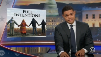 Trevor Noah Makes A Passionate Plea Over The Face-Off At Standing Rock