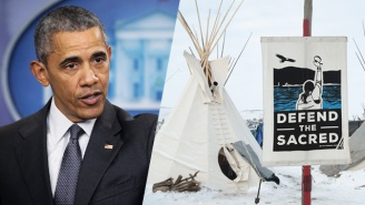 The Obama Administration Halts Construction On The Dakota Access Pipeline Near Standing Rock