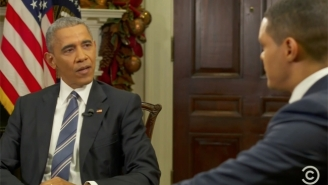 President Obama Speaks Openly About His Decision To Review Russia's Alleged Hacking On 'The Daily Show'