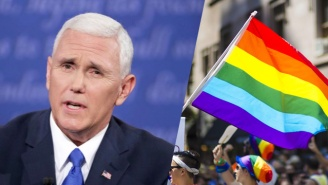 Mike Pence's New D.C. Neighbors Are Trolling Him With Gay Pride Flags