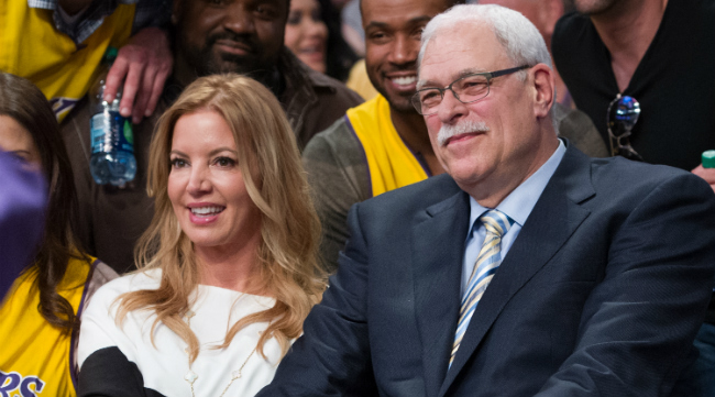 Phil Jackson And Jeanie Buss Announced Their Sudden Break-Up On Twitter