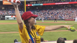 The Phillies' Famous 'Pistachio Girl' Has Been Fired Over Her White Nationalist Views