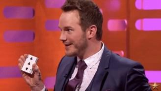 Chris Pratt Shows Off His Impressive Magic Skills With A Semi-Failed Card Trick