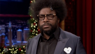 Questlove Cannot Catch A Break With This 'Tonight Show' Food Challenge