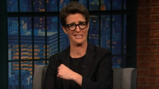 Rachel Maddow Uses Trump's Fear Of Windmills To Explain How His Business Conflicts Could Hurt The Country