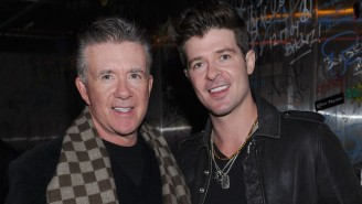 Robin Thicke Remembers His Dad Alan As The 'Best Man' He Ever Knew