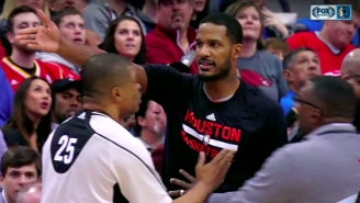 The Rockets Tried To Confront A Mavs Player Outside The Locker Room Following An Ugly Game