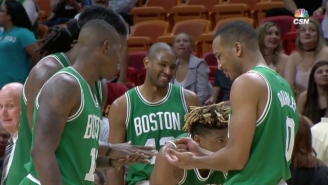 The Celtics Used Rock, Paper, Scissors To Decide Who Was Taking A Technical Foul Shot