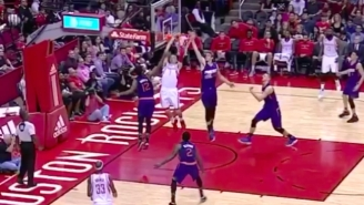Sam Dekker Went Up-And-Under For This Gorgeous Two-Handed Reverse Slam
