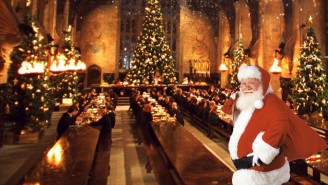 This Excellent 'Harry Potter' Fan Theory Posits That Santa Claus Is A Wizard