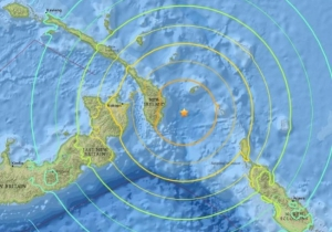 A 7.9-Magnitude Earthquake Has Hit The Coast Of Papua New Guinea And A Tsunami Warning Is In Effect
