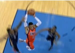 Russell Westbrook Is Dunking With Ease Again, And We Aren't Entirely Convinced He's Not A Superhero