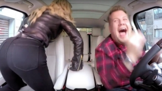 Madonna Twerks To 'Bitch I'm Madonna' In The First Promo For Her 'Carpool Karaoke' Episode