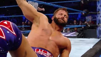 Zack Ryder Suffered A Knee Injury On WWE Smackdown Live