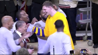 Timofey Mozgov's Former Teammates Showered Him With Love In His Return To Cleveland