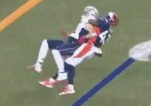 This Brutal Suplex By T.J. Ward On Julian Edelman Ended Any Hope Of A Broncos Comeback