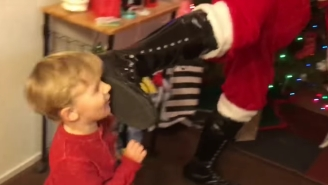The Young Bucks' Christmas Included Superkicks From Santa Claus