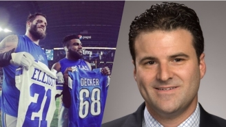 Darren Rovell Got Put In In His Place On Twitter By Lions Lineman Taylor Decker
