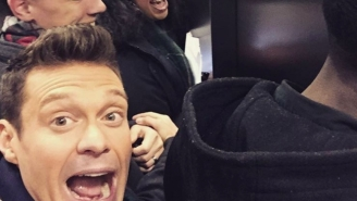 Ryan Seacrest Was Trapped In An Elevator Under The Times Square NYE Ball