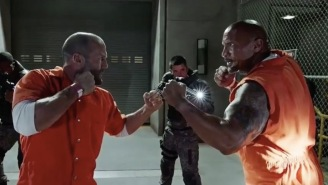 Here's Your First Look At Dwayne Johnson And Jason Statham In 'Hobbs And Shaw'