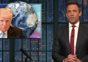 Seth Meyers Offers A Look At Climate Change Under The Trump Administration