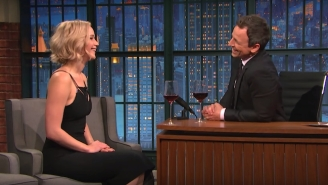 Jennifer Lawrence And Arnold Schwarzenegger Are Spending New Year's With Seth Meyers