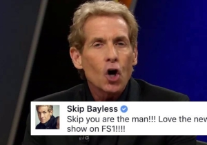 Skip Bayless Forgot To Switch To His Fake Account Before Praising Himself On Facebook