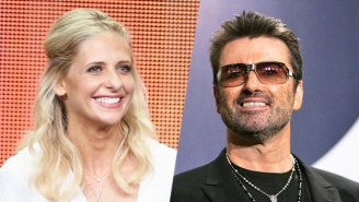 Sarah Michelle Gellar Recovers Gracefully After Confusing Boy George For George Michael In A Tribute