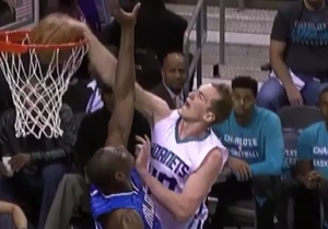 Cody Zeller Victimized Bismack Biyombo With A Filthy Driving Dunk