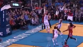 Sam Dekker Dunked All Over Enes Kanter And Then Let Him Know About It