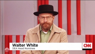 Donald Trump Appoints Walter White From 'Breaking Bad' To Be Head Of The DEA On 'SNL'